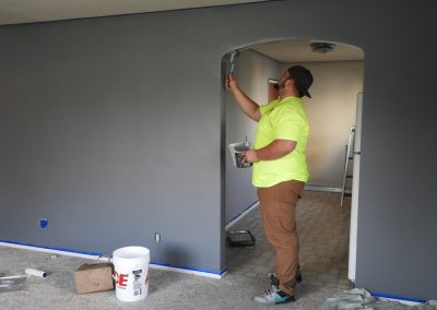 low cost painters victoria - interior painting of a hallway